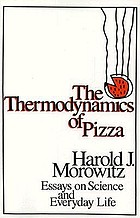 The thermodynamics of pizza