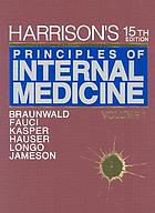 Harrison's principles of internal medicine.