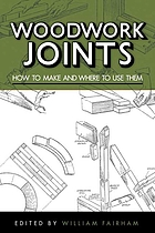 Woodwork joints : how to make and where to use them