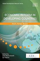 Economic reform in developing countries : reach, range, reason