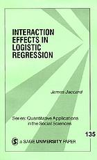 Interaction Effects in Logistic Regression cover image
