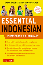 Essential Indonesian : speak Indonesian with confidence