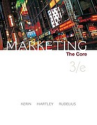 Marketing : the core
