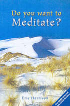 Do you want to meditate?