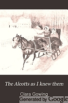 The Alcotts as I knew them,