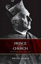 Prince of the Church : Patrick Francis Moran, 1830-1911