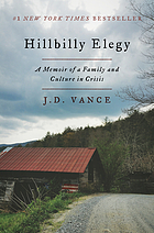 MARCH BOOKCLUB. 2018, Hillbilly Elegy: A Memoir of a Family and Culture in Crisis.