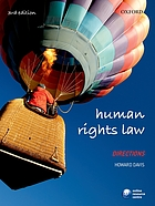 Human rights law : directions