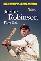 Jackie Robinson plays ball