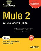 Mule 2 : a developer's guide