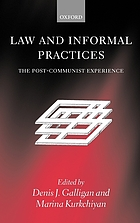 Law and informal practices : the post-communist experience