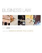 Business law : with UCC applications