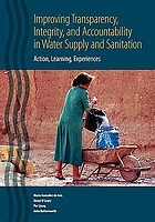 Improving transparency, integrity, and accountability in water supply and sanitation