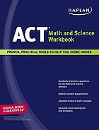 Act math and science workbook.