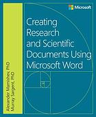Creating research and scientific documents with Microsoft Word