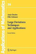 Large deviations techniques and applications