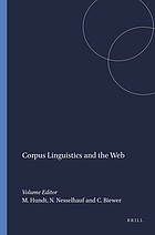 Corpus linguistics and the web