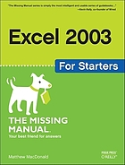 Excel for starters : the missing manual