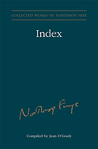 Collected works of Northrop Frye