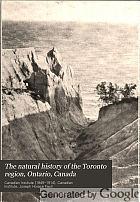 The natural history of the Toronto region, Ontario, Canada,