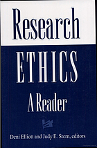 Research ethics : a reader