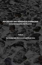 Psychology and indigenous Australians : effective teaching and practice