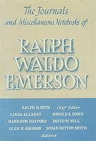 The journals and miscellaneous notebooks of Ralph Waldo Emerson / 15 : 1860-1866 / ed. by Linda Allard.