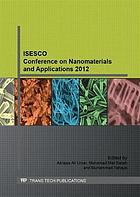 ISESCO Conference On Nanomaterials and Applications 2012