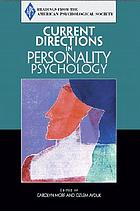 Current directions in personality psychology