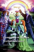 Community in modern Scottish literature