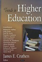 Trends in higher education