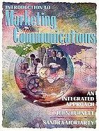 Introduction to marketing communication : an integrated approach