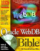 Oracle WebDB bible
