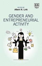 Gender and entrepreneurial activity