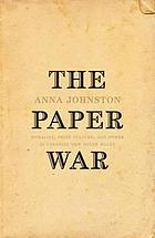 The paper war : morality, print culture and power in Colonial New South Wales