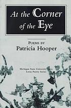 At the corner of the eye : poems