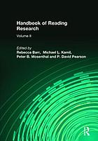 Handbook of reading research. Vol 2