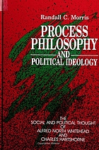 Process philosophy and political ideology : the social and political thought of Alfred North Whitehead and Charles Hartshorne