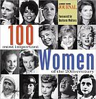 100 most important women of the 20th century.