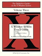 X Window System user's guide. v. 3, OSF/Motif 1.2 edition