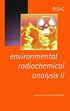 Environmental radiochemical analysis II