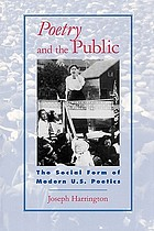 Poetry and the public : the social form of modern U.S. poetics