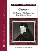 Critical companion to Chaucer : a literary reference to his life and work