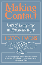 Making contact : uses of language in psychotherapy
