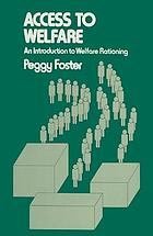Access to welfare : an introduction to welfare rationing