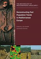 Reconstructing past population trends in Mediterranean Europe (3000 BC - AD 1800)