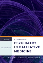 Handbook of psychiatry in palliative medicine