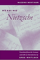 Reading Nietzsche