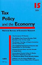 Tax policy and the economy. 15