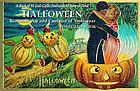 Halloween : romantic art and customs of yesteryear postcard book